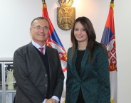 Minister Kuburovic and Frattini deliberate on anti-corruption