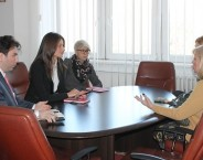Minister Kuburovic and Vesna Stanojevic discussed the application of the new Domestic Violence Protection Act