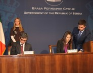 With new agreements towards the advancement of legal cooperation between Serbia and Italy