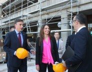The Palace of Justice refurbishment as proof of the EU supporting Serbia's european path