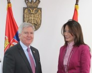 Minister Kuburovic and the US ambassador discuss fight against corruption and human trafficking