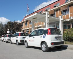 Four vehicles delivered to the Health Center in Kragujevac