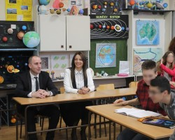 "Ivo Andrić elementary school's energy efficiency increased with ""opportunity funds"""