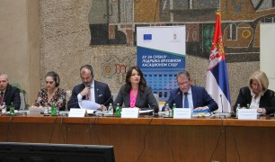 Anual report presented on the work of Serbia's courts