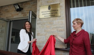 New facility of the Misdemeanour Court in Požarevac