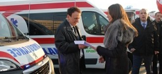 21 ambulances purchased with opportunity money