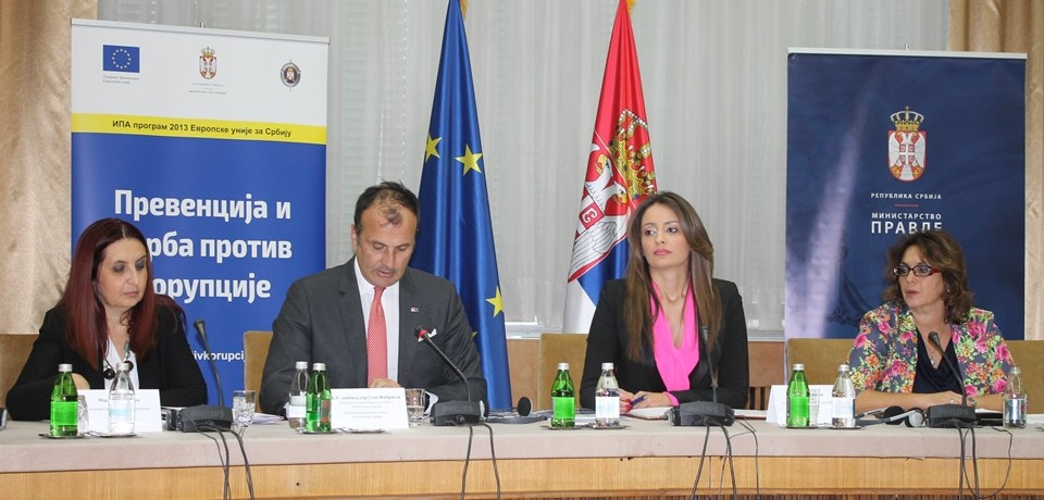Minister Kuburović: Fight against corruption as a priority for the Government and the Ministry od Justice